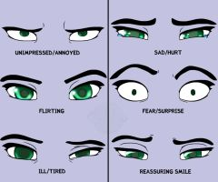 Eyemotions - practise by Gibbo18