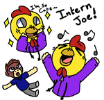 Intern Joe (And Babu) by Jewfross