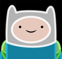 Finn The Human Neon by Ellittest