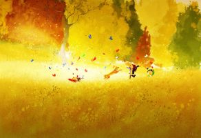 Butterflies. by PascalCampion