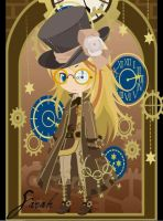 Steampunk ID by xkyana13