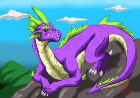 Spike the dragon by valkdaombras