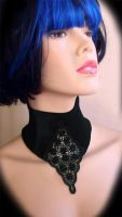 Stretch Velvet Collar by Trinitynavar