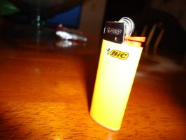 the dreaded yellow lighter by savemyamericanspirit