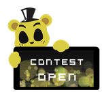 Golden Freddy Contest Open Stamp by Ink-cartoon