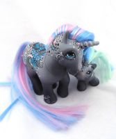 My little pony custom  henna  Sundury and Sashi by AmbarJulieta