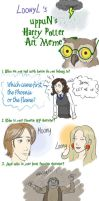 Harry Potter art meme by Loony-Lucy