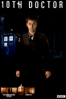 10th doctor - 50th Anniversary Doctor Who Poster by feel-inspired