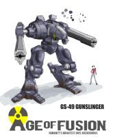 GS-49 Gunslinger by sirdubdub