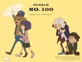 Puzzle 100 - Better Late Than Never by nattherat