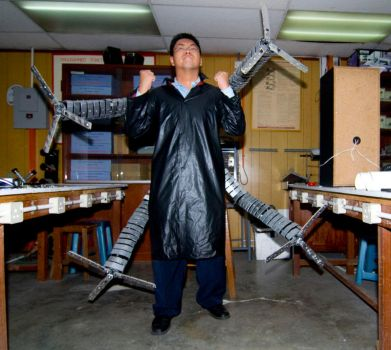 My Doc Ock Cosplay is ready. by Chi-Rong