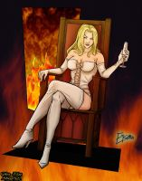 Emma Frost Colo by Atma94