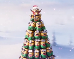 Minion Xmas Tree smaller by Richard67915