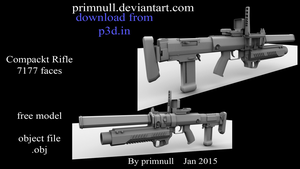 Compackt Rifle by primnull