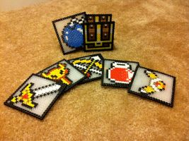 Zelda Perler Coaster Set by Night-TAG