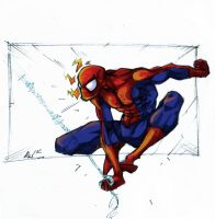 spiderman_by_ kuewa by seankobain