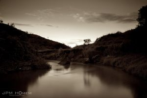 Lake 02 - sepia by jpmh21