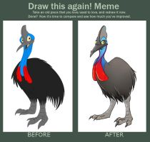 Before and After meme by Toonfused