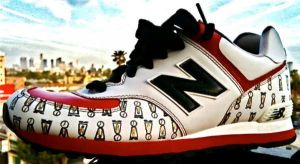 Grandpa-J New Balances by PattersonArt