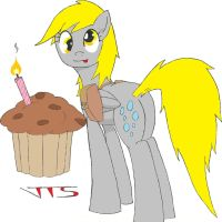 Derpy's Muffin. by JSHaseo