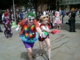 Summer Fun With Joker And Harley! by TommEdge4Life