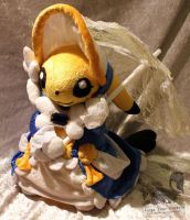Cosplay Pikachu Belle Plush - Pokemon by Forge-Your-Fantasy