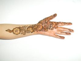 Mom's henna by honeyness