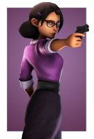 Miss Pauling by Yhrite