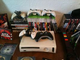 Video Game Collection 2015 (Xbox/Xbox360) by elvenbladerogue