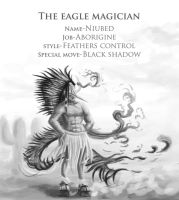 52 eagle magician by foice