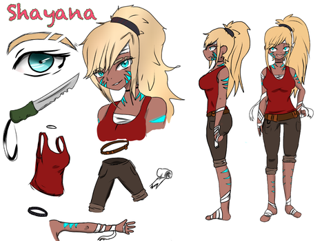 New o.c Shayana by Dark-Tiff