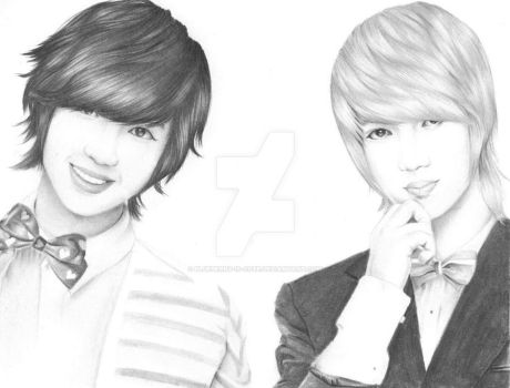 Youngmin and Kwangmin by BlueBerry-is-cute