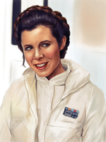 Hoth Leia by clc1997