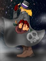 Nightmare McIntosh :Humanized: by The-Hedgehog-Shadow