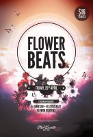 Flower Beats Flyer by styleWish