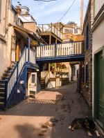 Quebec Alley by JANorlin