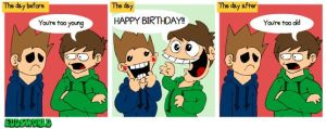 EW comics No. 66 - Birthday by eddsworld