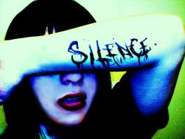 Silence Screams Louder. by Darxen