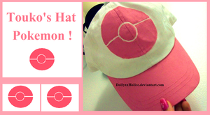 Touko's Hat +HandPainted+ by DollyxxHolicc