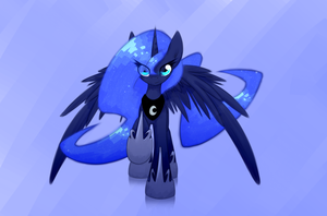 Luna_white by QueenBloodySky