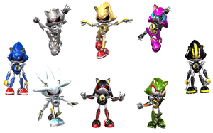 Metal Sonic Series by SynjoDeonecros