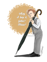 Baby Mycroft 1 by RedPassion