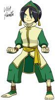 Toph Bei Fong by VGAfanatic