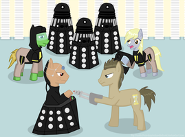 Resurrection of the Daleks by DespisedAndBeloved