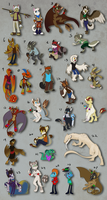 All characters by AbsoluteDream