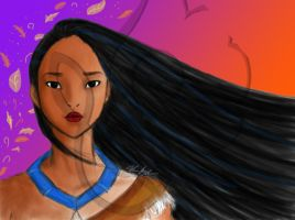 Pocahontas Rough Draft by MissJuxtaposition