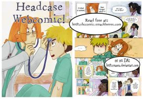 Headcase Webcomic by FiaFreckles