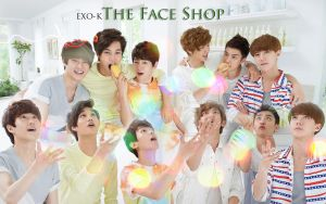 exok faceshop by KpopGurl