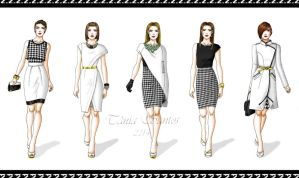Black and white collection by Tania-S