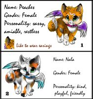 Winged Kitten adoptables :CLOSED: by Okami-Heart